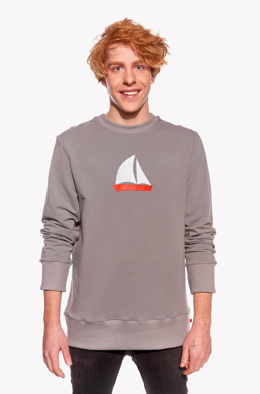 Hoodie with sailboat