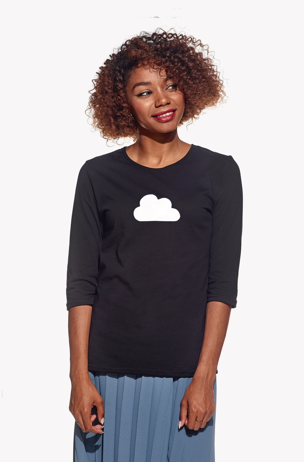 Shirt with cloud