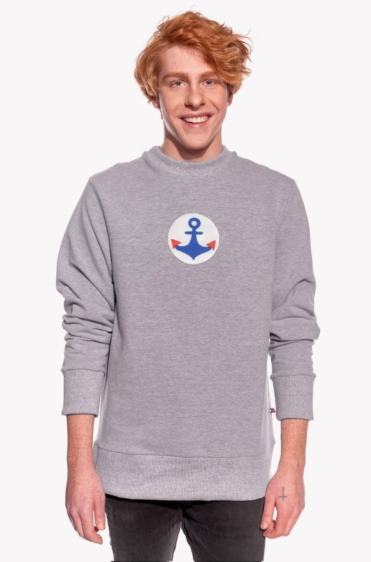 Hoodie with anchor