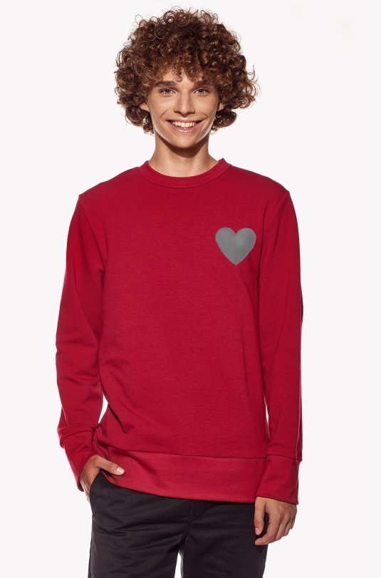 Hoodie with heart