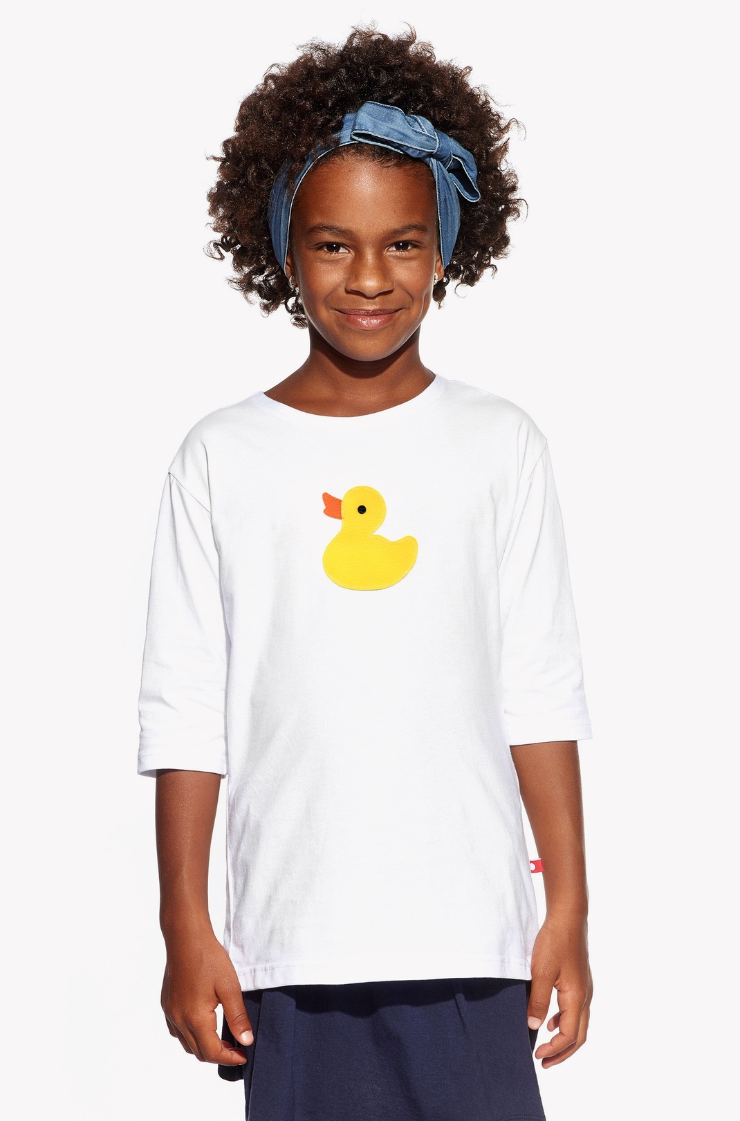 Shirt with duck